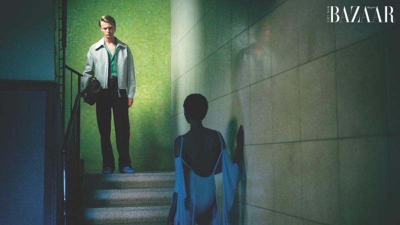 Salvatore Ferragamo mang phim Hitchcock vào chiến dịch Xuân Hè 2021 2