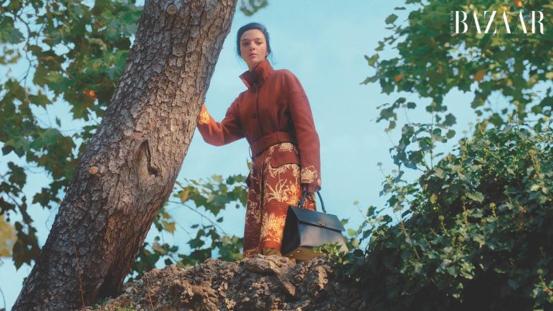 Salvatore Ferragamo mang phim Hitchcock vào chiến dịch Xuân Hè 2021