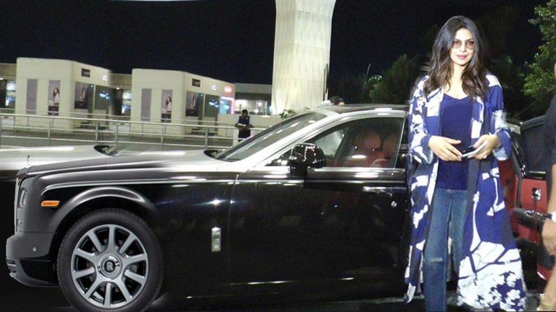 Rolls-Royce Ghost tông màu nội thất đỏ được thiết kế theo phong cách và ý tưởng của Priyanka. Ảnh: Youtube.com.