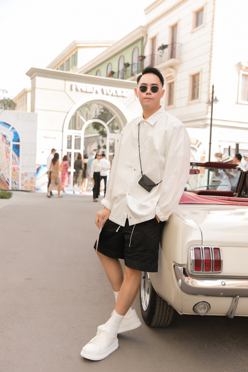 Street style vừa chất vừa ngầu của dàn sao Việt 10