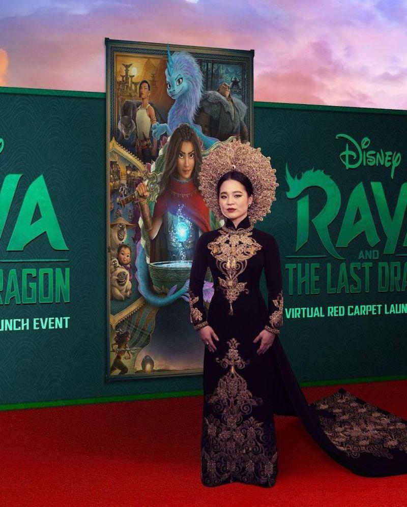 Kelly Marie Trần - Công chúa Disney gốc Việt diện đầm của Công Trí 4
