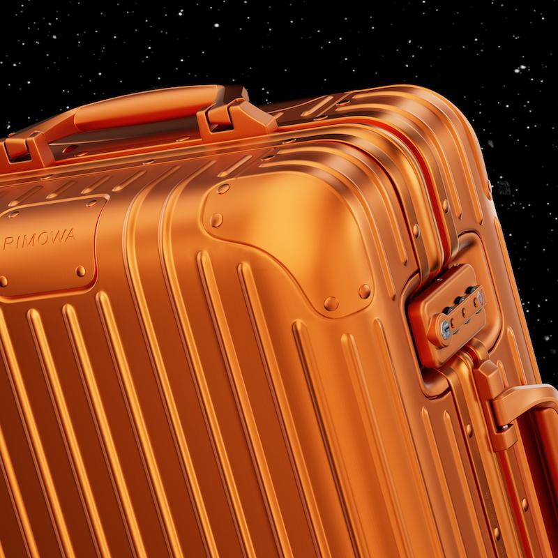 RIMOWA tung ra gam màu mới cho vali Original: màu cam MARS 2