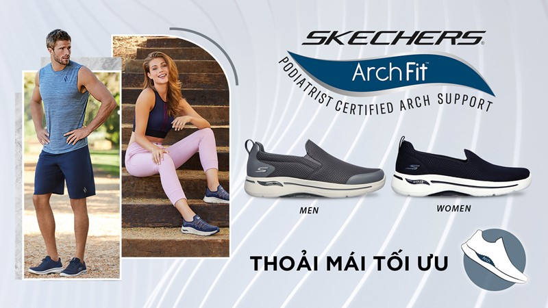 Giày thể thao Skechers Gowalk Arch Fit