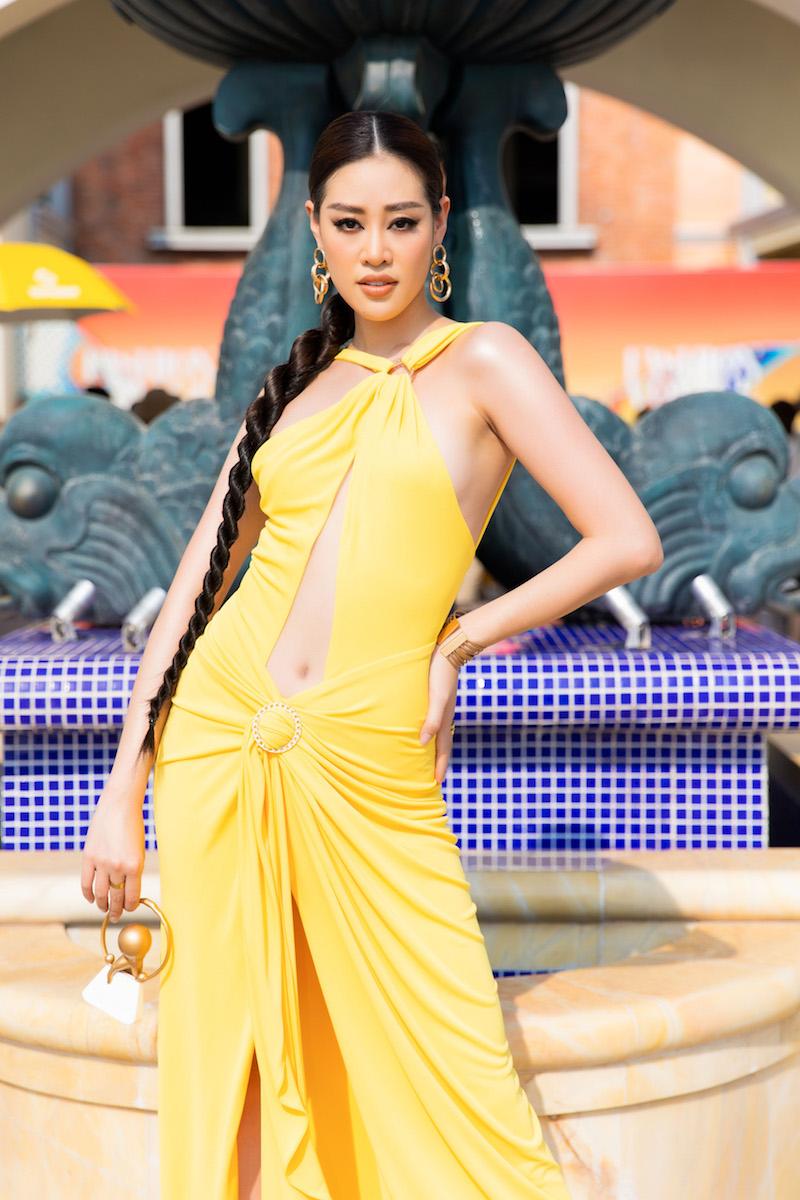 Thảm đỏ Fashion Voyage 3 ngày 2: Khánh Vân