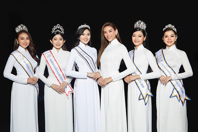 Siêu mẫu Võ Hoàng Yến diện áo dài nữ sinh, nhớ về tuổi học trò cấp ba 1