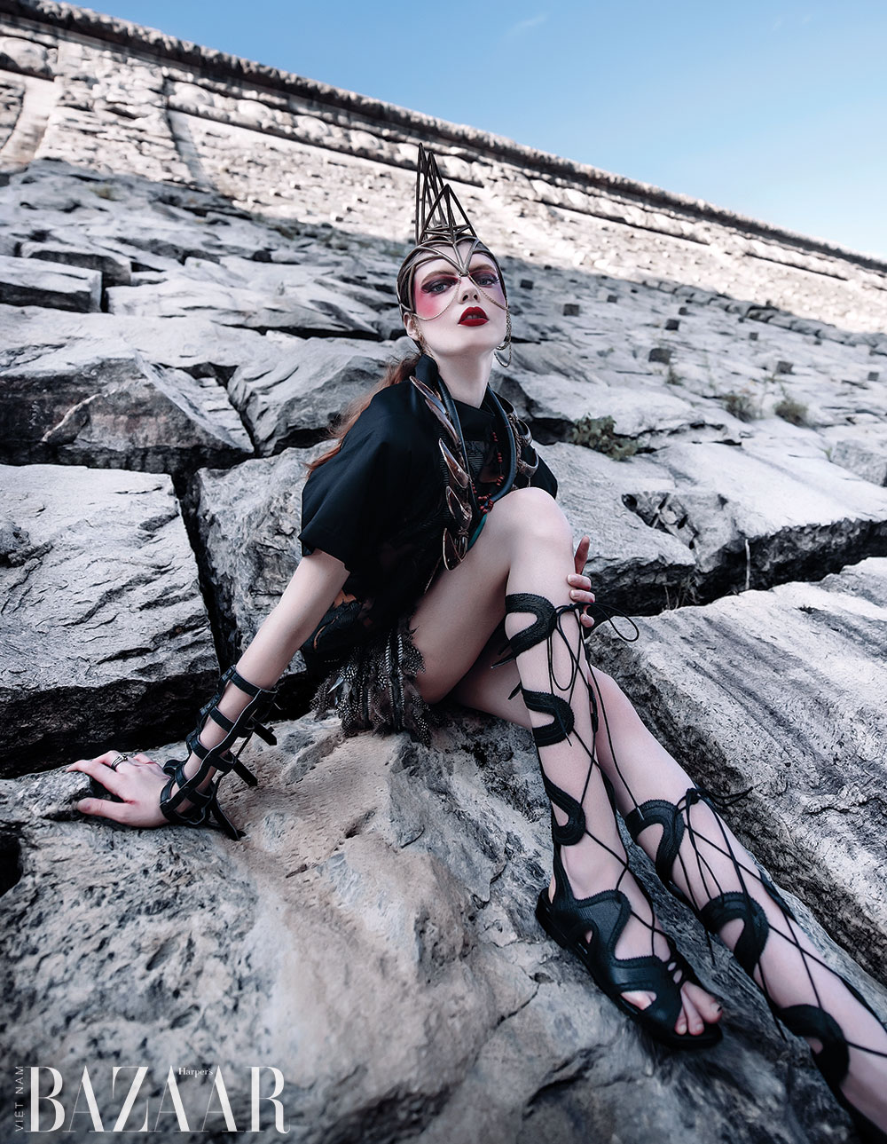 Fashion story: Warriors – Photographer Tatiana Luna