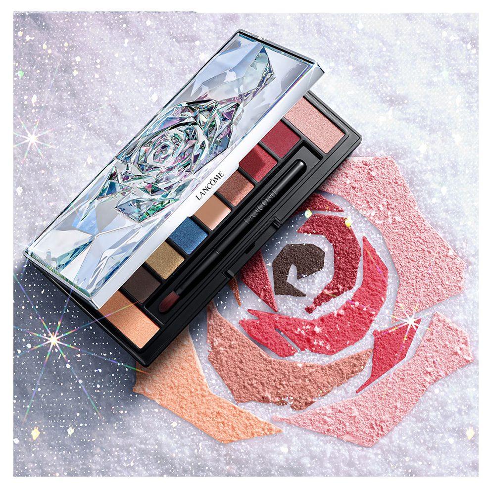 bộ trang điểm lancôme: Bảng phấn mắt 9 màu La Rose Eyeshadow