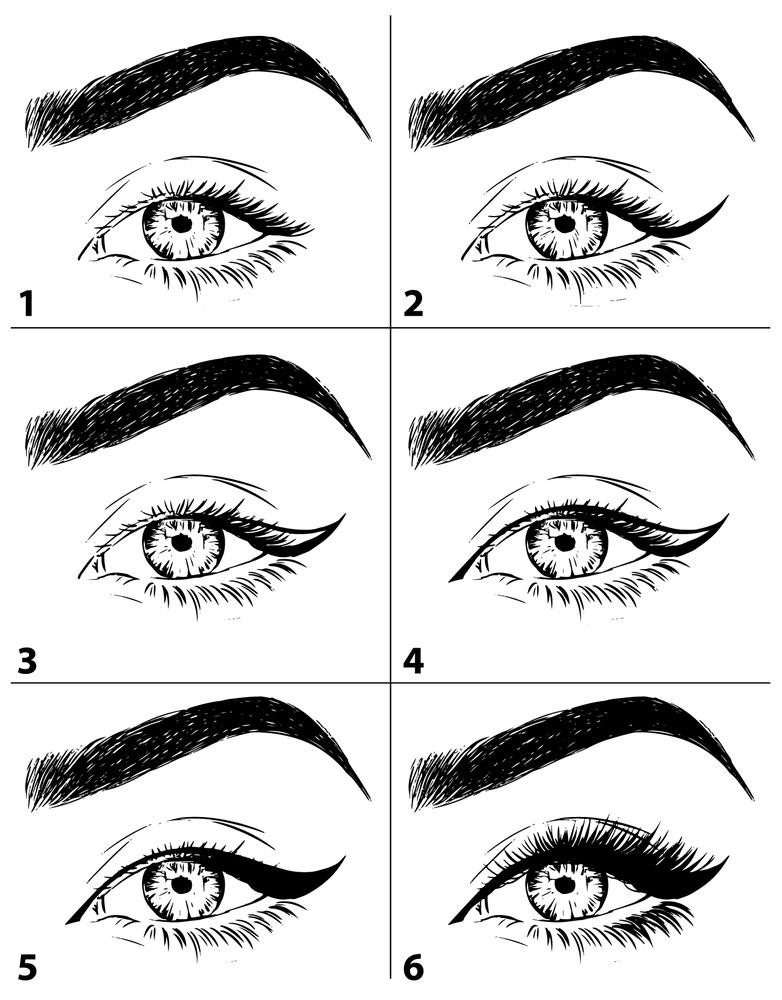 Cách kẻ mắt nước cho người mới tập