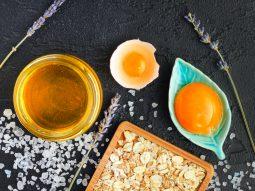 cách làm đẹp từ mật ong và trứng gà