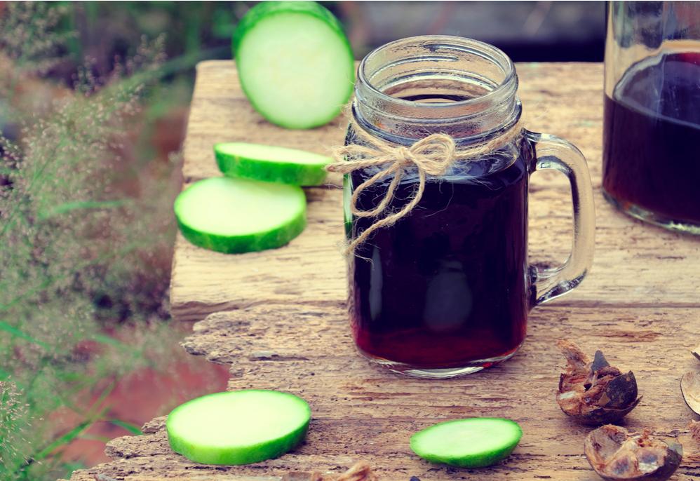 cách làm trà bí đao giảm cân