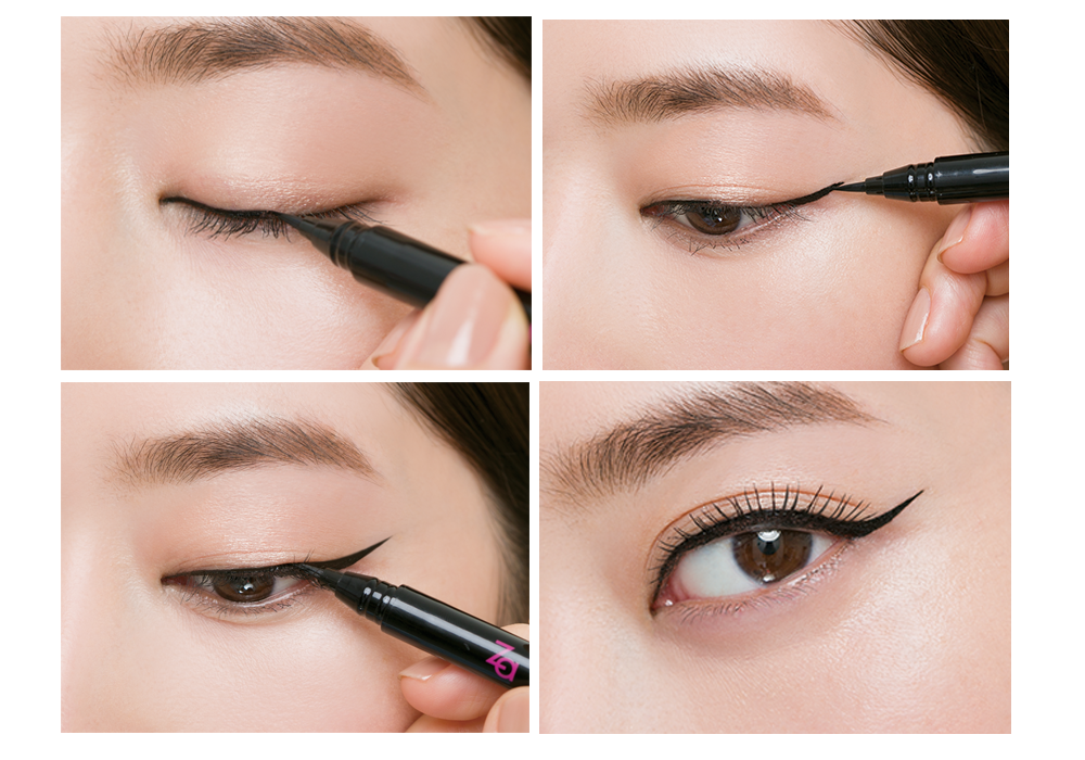 Cách vẽ mắt nước Hàn Quốc