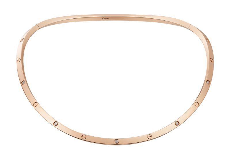 Cartier thêm biến tấu mới cho bộ sưu tập trang sức LOVE: Vòng đeo cổ 3