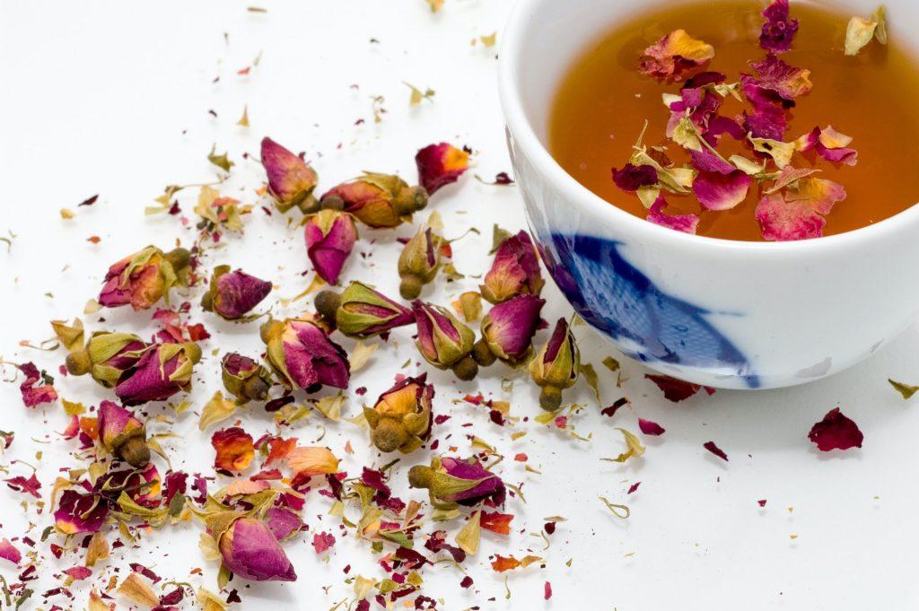 trà hoa hồng có tác dụng gì