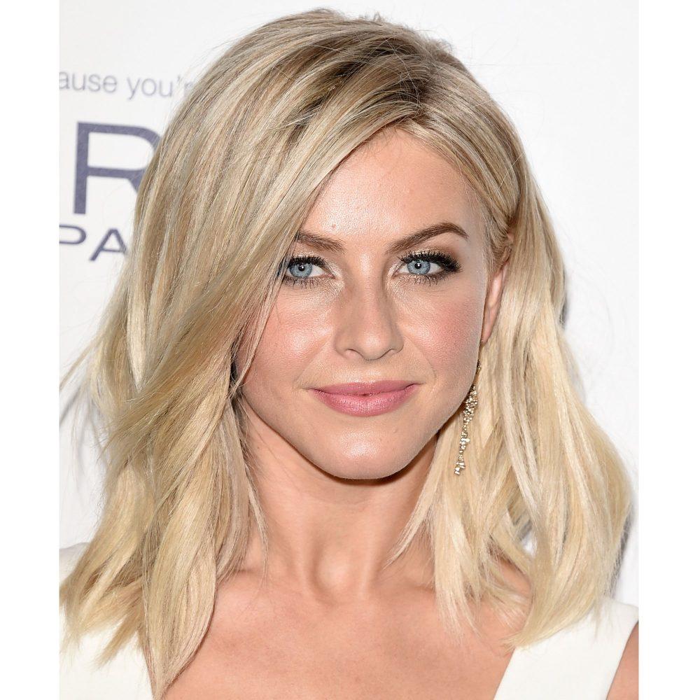 kiểu tóc phù hợp với khuôn mặt trái xoan: Julianne-Hough