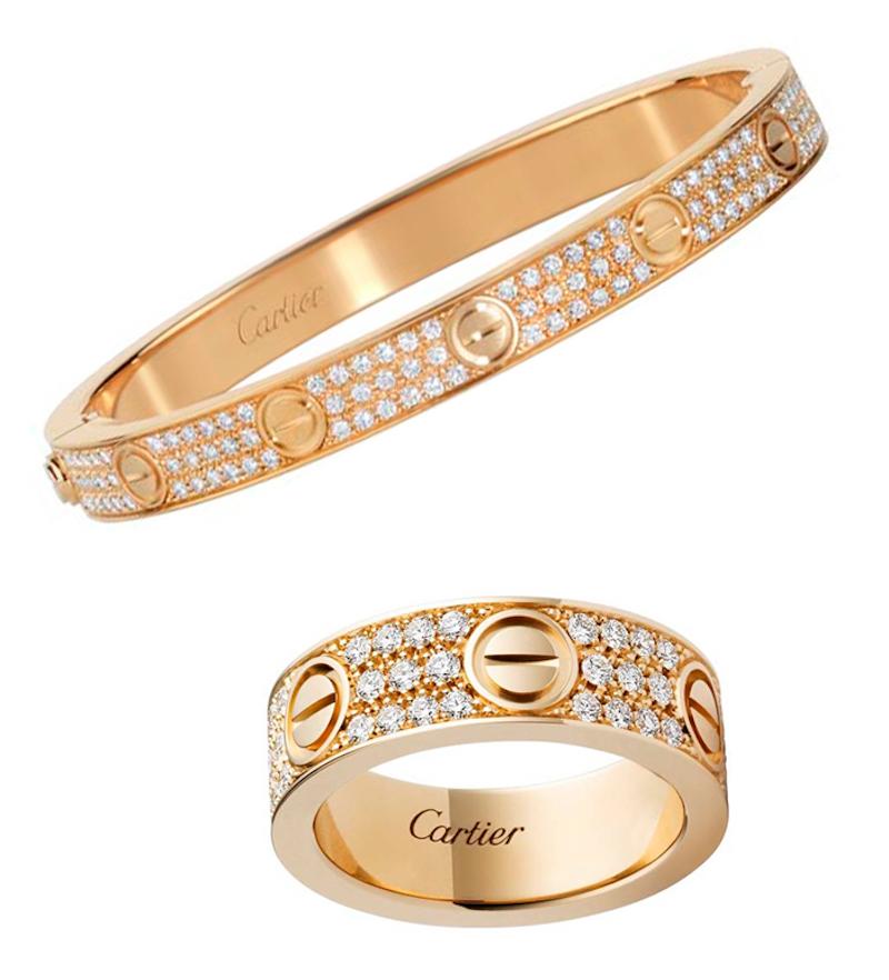 Cartier thêm biến tấu mới cho bộ sưu tập trang sức LOVE: Vòng đeo cổ 2