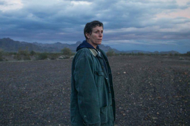 Frances McDormand, nữ diễn viên kỳ cựu của điện ảnh Mỹ trong phim Nomadland. Ảnh: Indiewire.com.