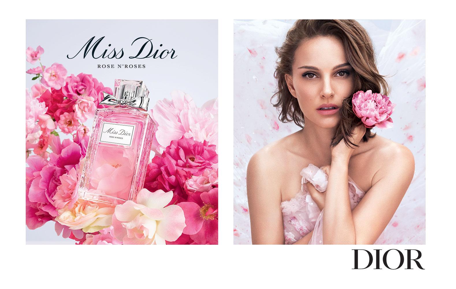 Miss Dior Rose N' Roses, hương nước hoa hồng thanh nhã cho hè