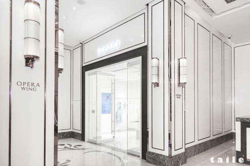 TAILE chính thức ra mắt flagship showroom ngập sắc trắng ở Sài Gòn 1