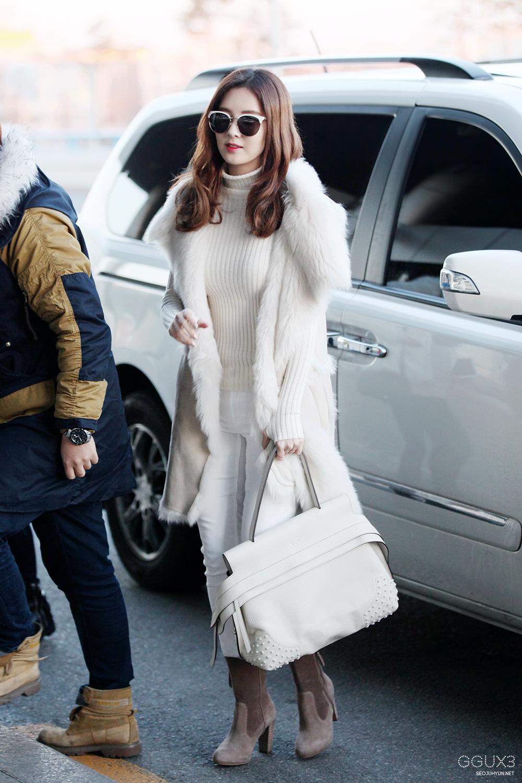 Chiếc áo lông cực đáng yêu của Seohyun (SNSD).