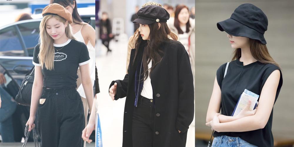 thời trang sân bay của sao Hàn