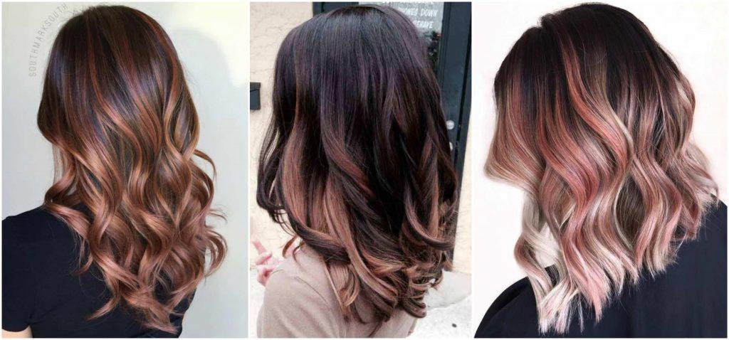 Tóc đen highlight màu gì đẹp? Màu caramel quyến rũ