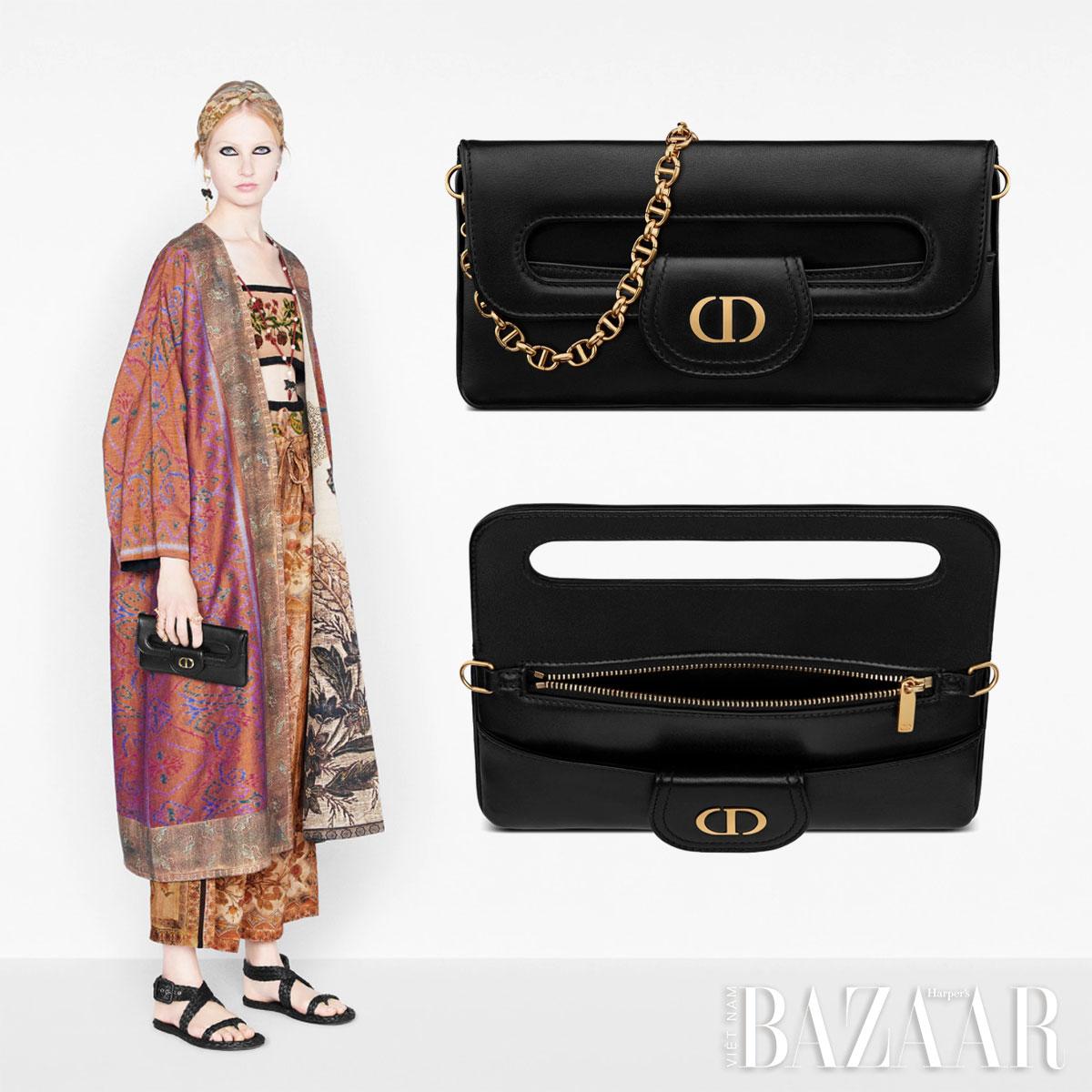 Hoa hậu Phương Khánh hoá cô gái đồng nội Pháp với túi DiorDouble 5