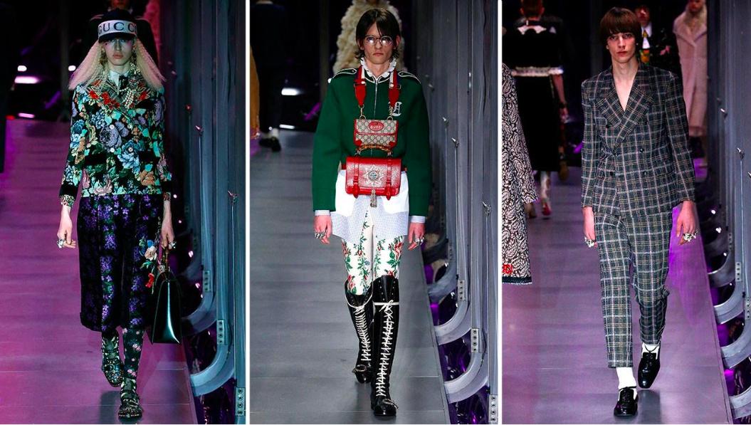 Bộ sưu tập unisex của Gucci năm 2017