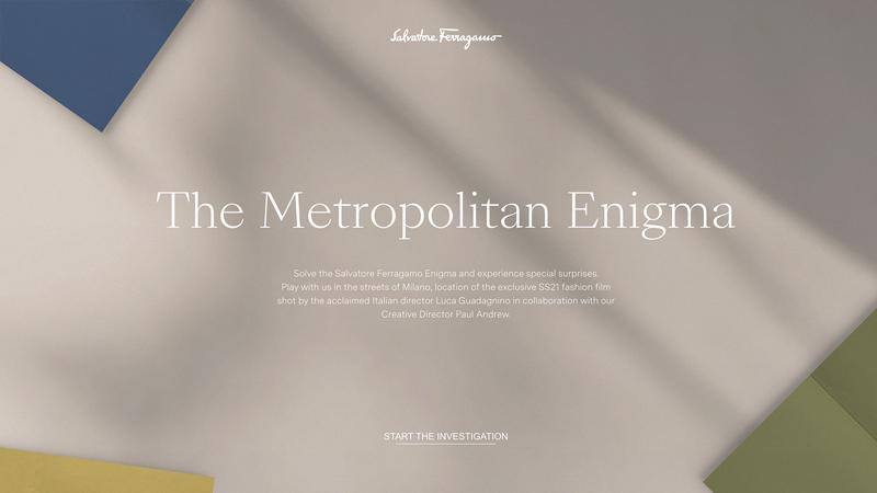 Salvatore Ferragamo chơi chiêu lạ, tung BST Xuân Hè 2021 qua game The Metropolitan Enigma