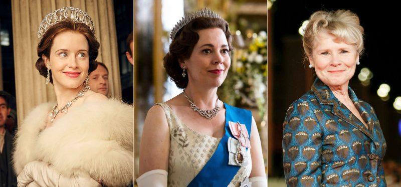 Những nữ diễn viên thủ vai chính Nữ hoàng Elizabeth II: Claire Foy, Olivia Coleman và Imelda Staunton. Ảnh: thesun.co.uk.