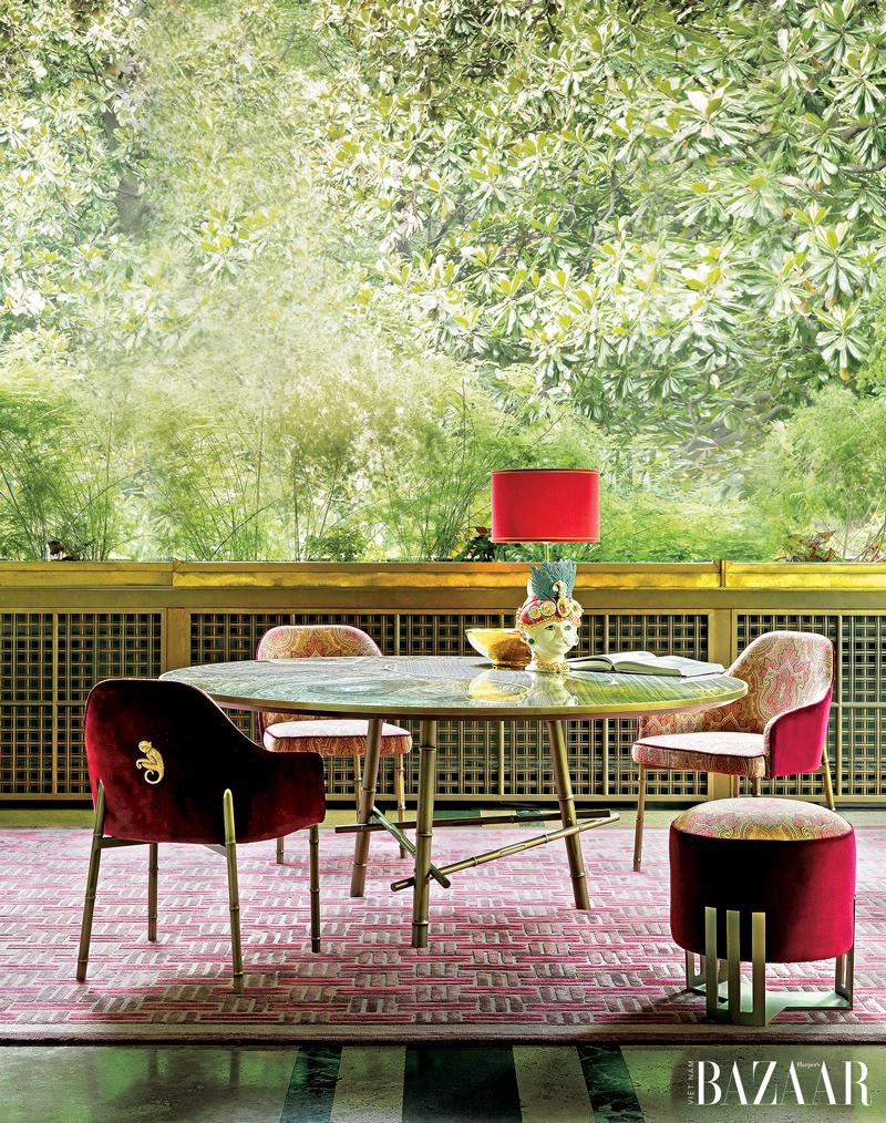 Đưa thiên nhiên vào nhà với những món đồ nội thất Ý đầy sắc màu
