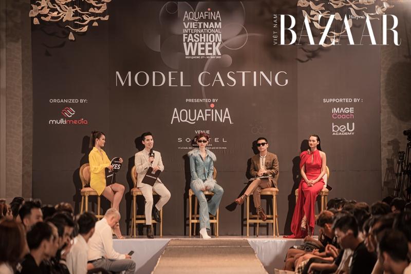 Buổi casting người mẫu cho AVIFW Xuân Hè 2021