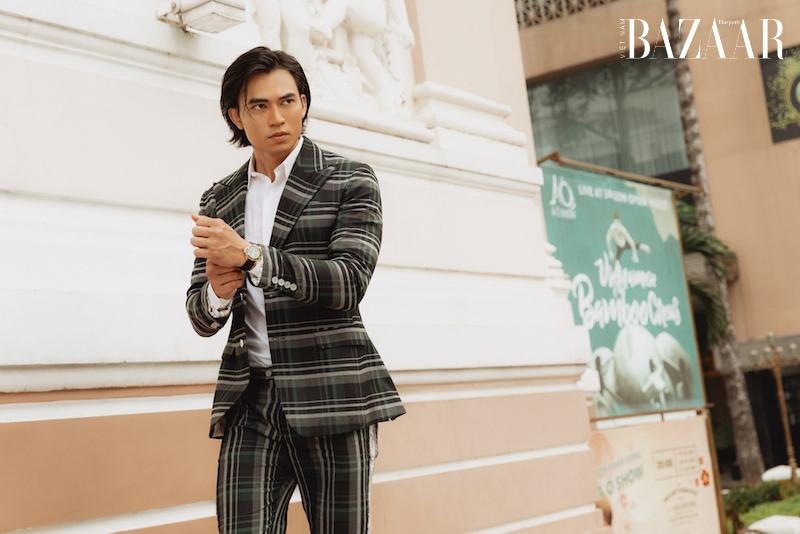 Vẻ điển trai của diễn viên Lê Anh Huy, chàng Thúc Sinh của phim Kiều 1