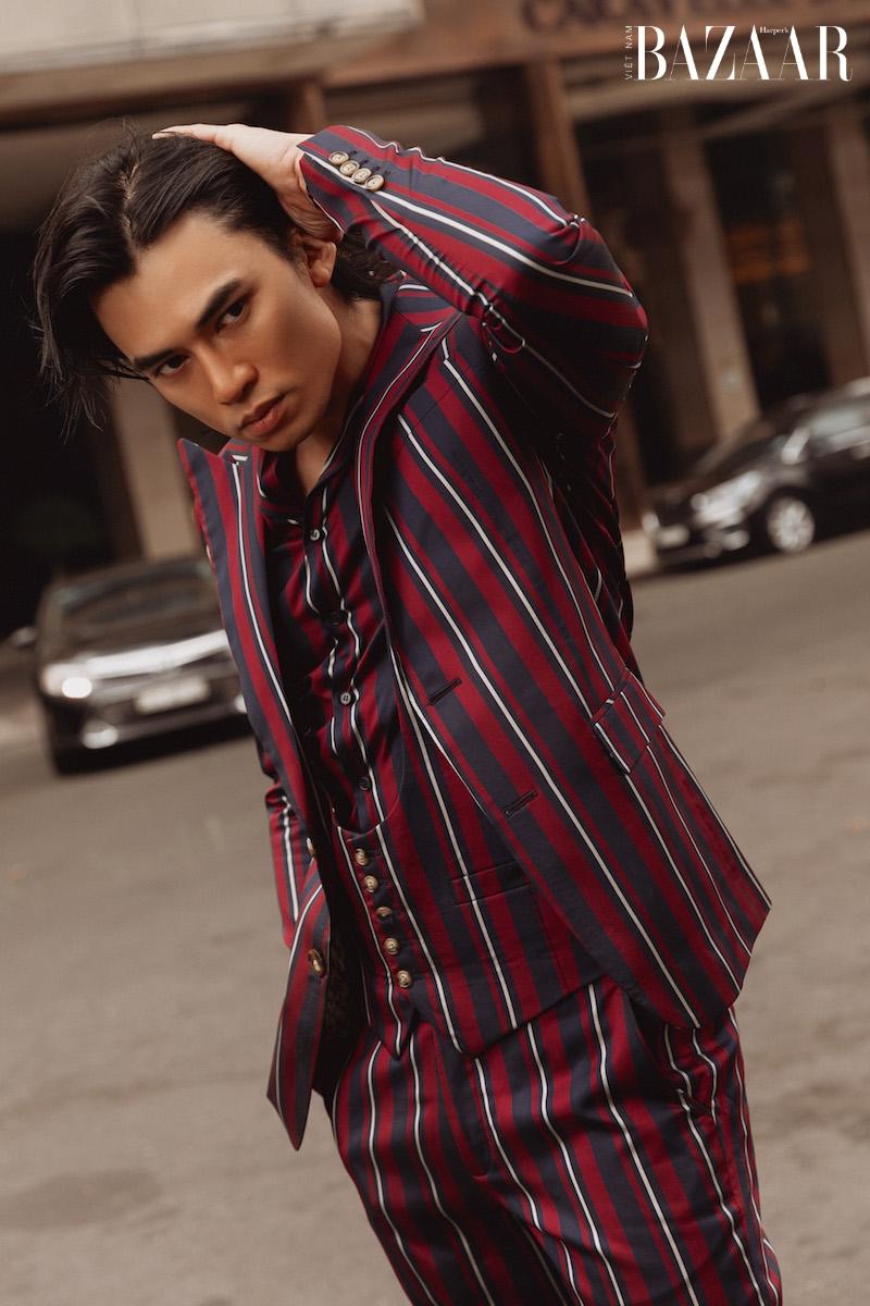 Vẻ điển trai của diễn viên Lê Anh Huy, chàng Thúc Sinh của phim Kiều 8