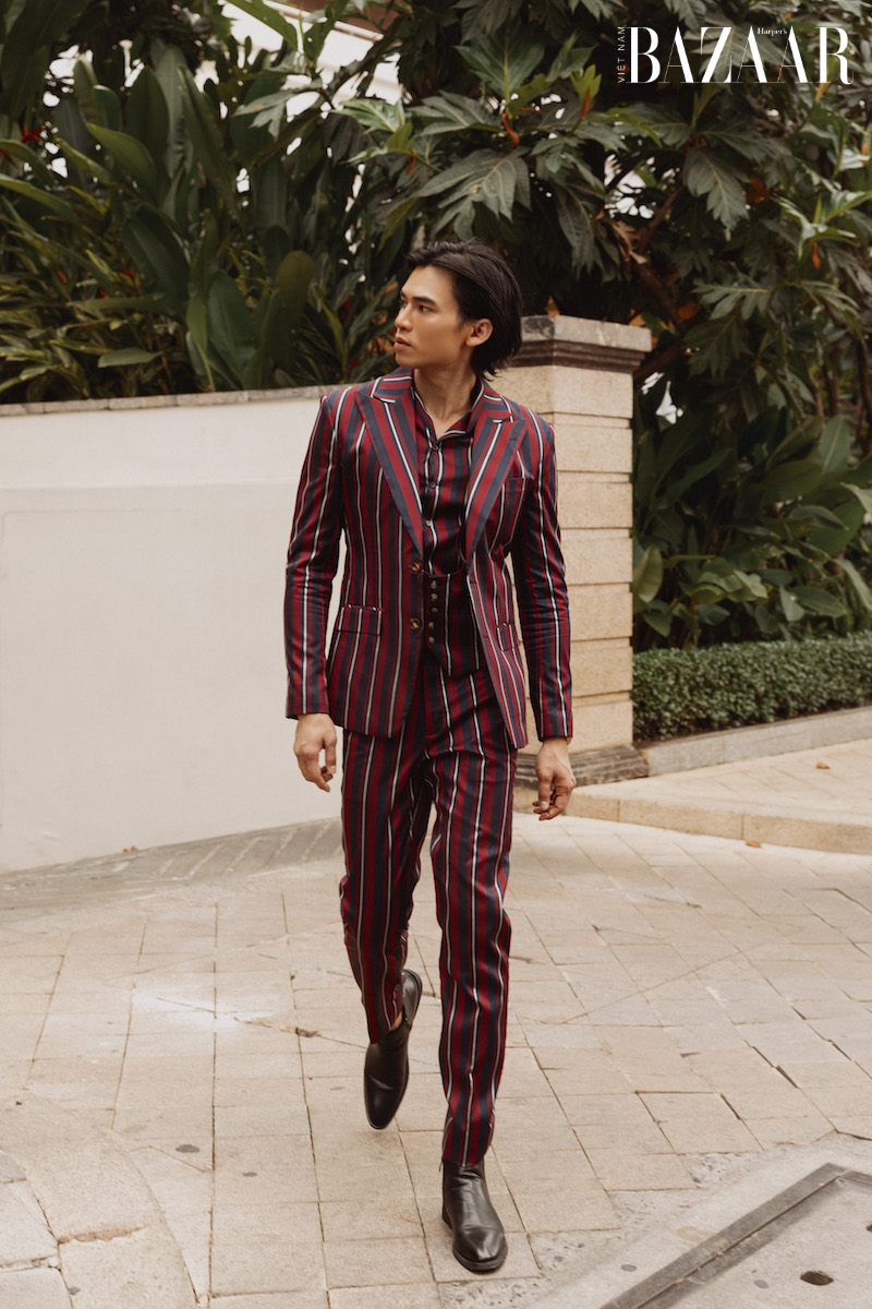 Vẻ điển trai của diễn viên Lê Anh Huy, chàng Thúc Sinh của phim Kiều 2