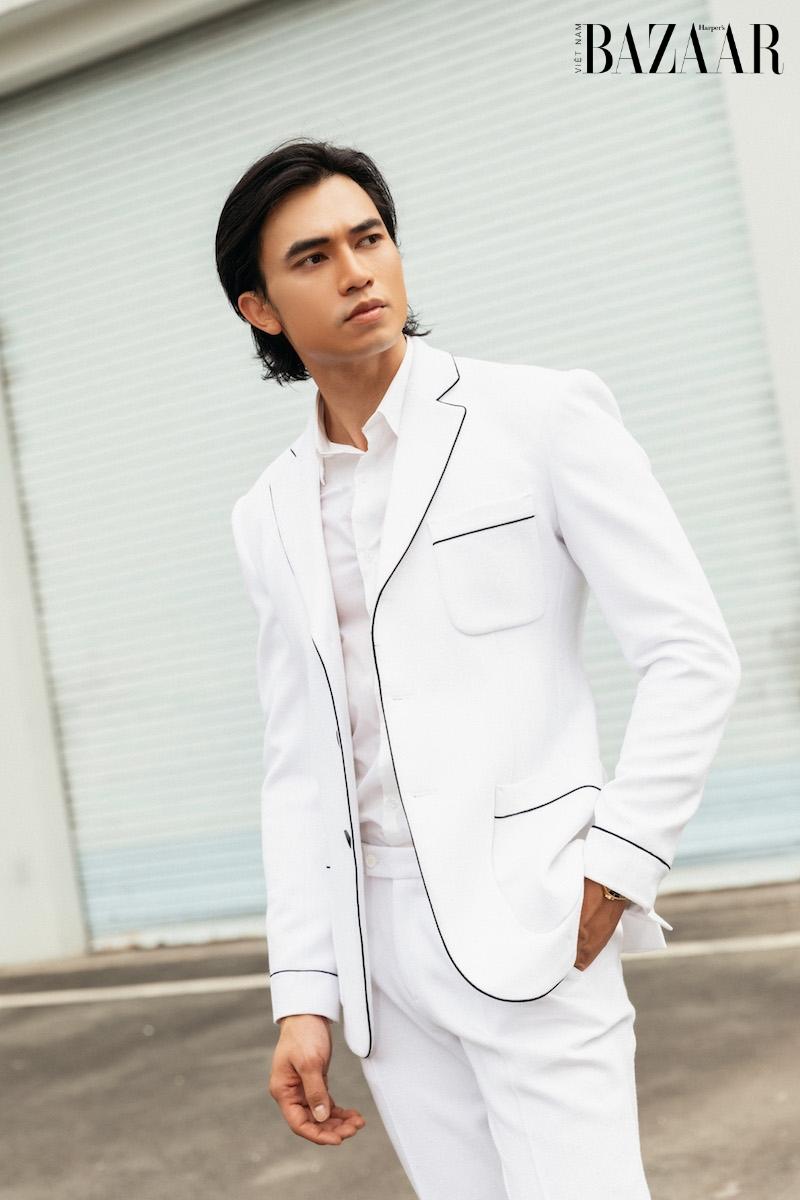 Vẻ điển trai của diễn viên Lê Anh Huy, chàng Thúc Sinh của phim Kiều 7
