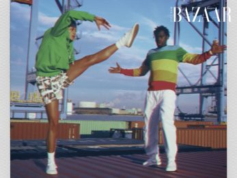 Lacoste x Polaroid: Bộ sưu tập thời trang thể thao mang dải màu retro