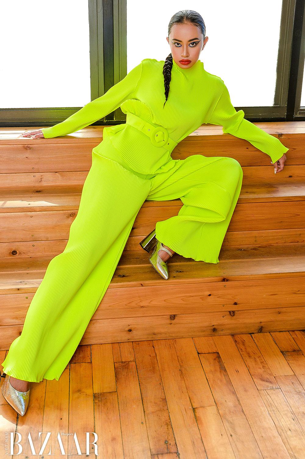 Bộ ảnh thời trang Sắc màu New York: Thành phố không bao giờ ngủ by Veronika Lemle