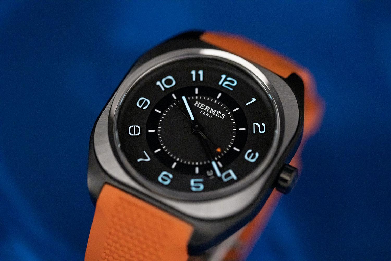 Lần đầu tiên Hermès thiết kế đồng hồ phong cách thể thao 3