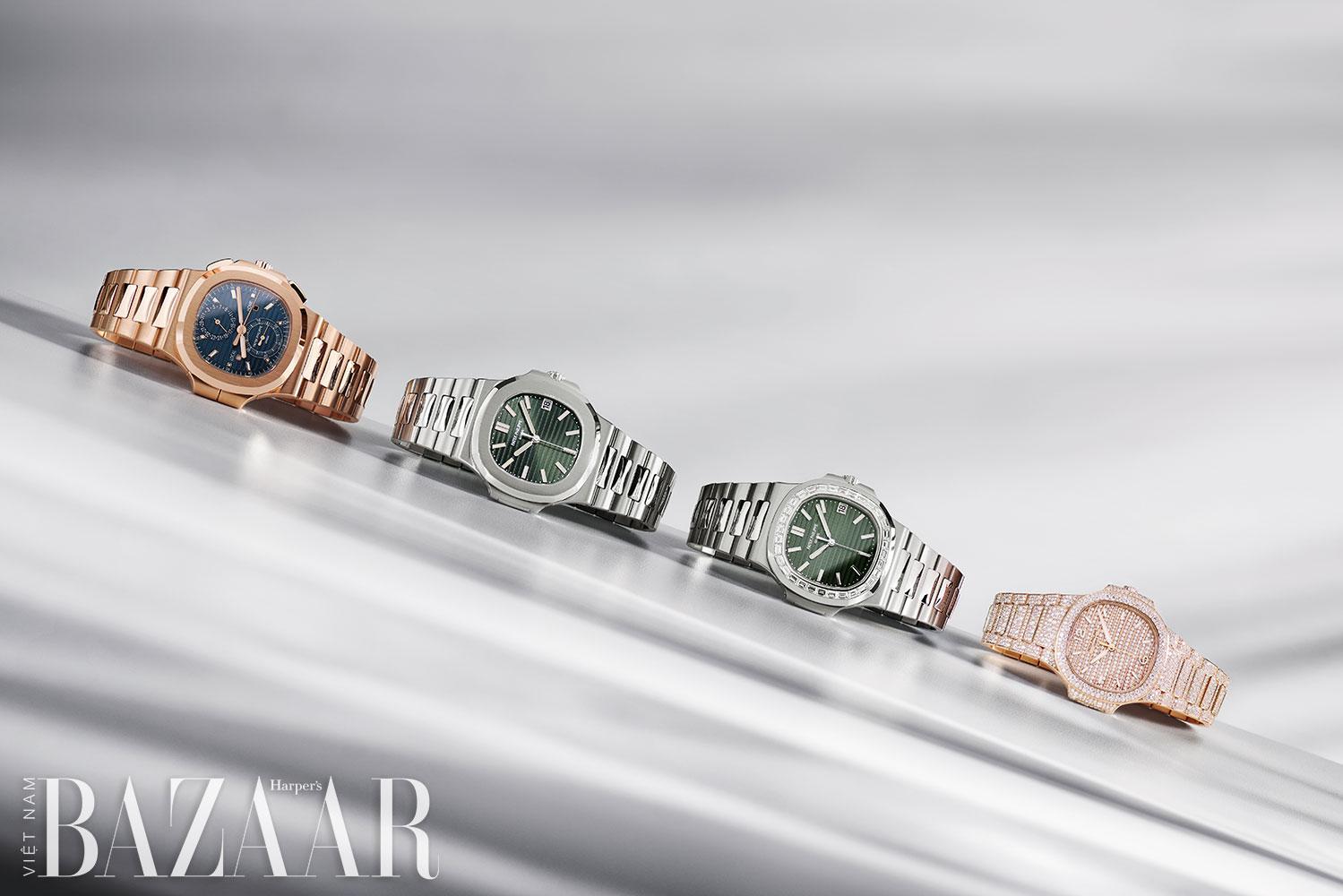 Patek Philippe ra mắt 4 mẫu đồng hồ Nautilus cho 2021 2