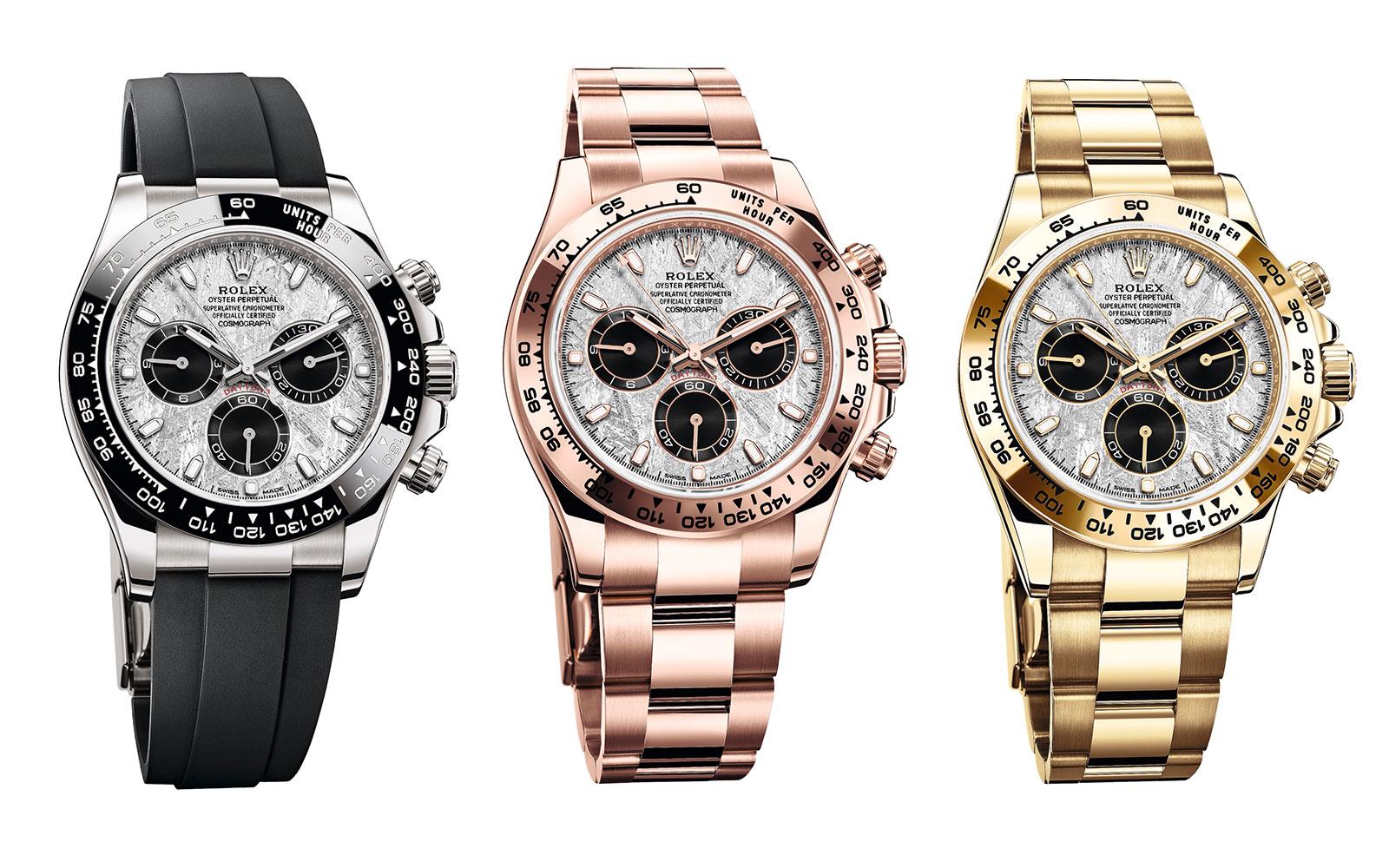 Rolex giới thiệu 16 mẫu đồng hồ mới cho 2021 4