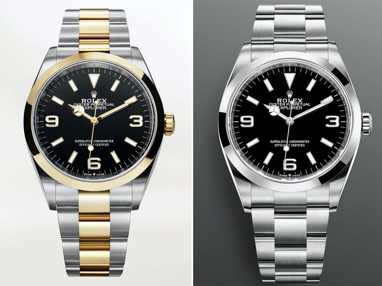 Rolex giới thiệu 16 mẫu đồng hồ mới cho 2021 1