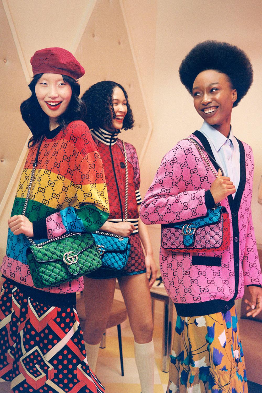 Gucci Multicolor: Bộ sưu tập màu cầu vồng cho Hè 2021 8