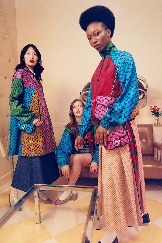 Gucci Multicolor: Bộ sưu tập màu cầu vồng cho Hè 2021 5