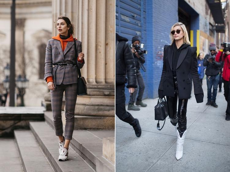 Sự kết hợp đỉnh cao giữa hoodie và suit hoặc blazer