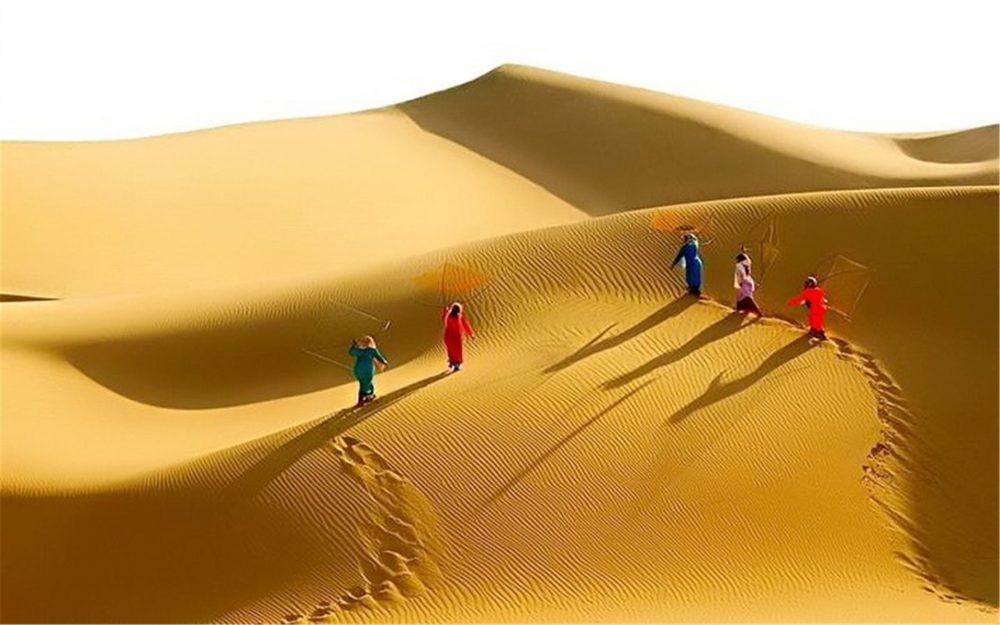 Địa điểm du lịch Quảng Bình: Cồn cát Quang Phú