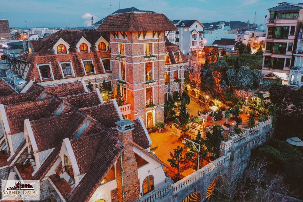 Saphir Dalat Hotel, khách sạn đẹp ở Đà Lạt