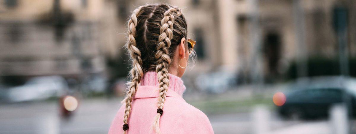 Kiểu tóc tết kiểu Pháp jumbo cho áo trễ vai