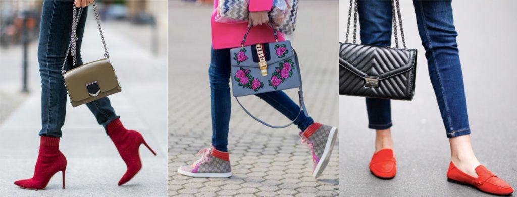 các loạ giày phối cùng skinny jeans