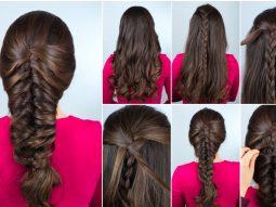 tự tết tóc xương cá