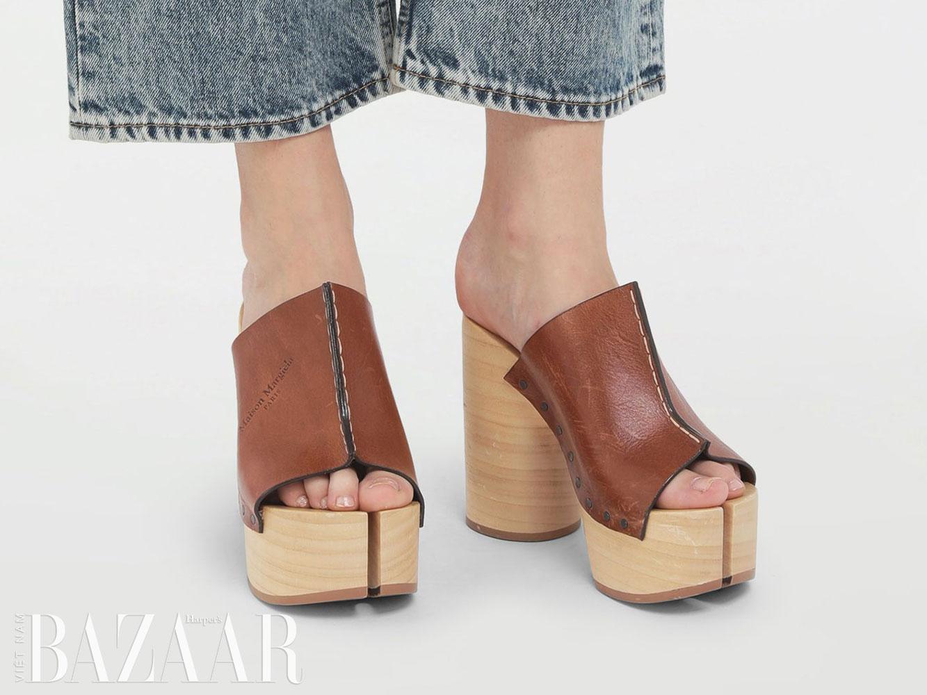 Giày clog là gì và vì sao những đôi guốc gỗ này trở lại mùa Xuân Hè 2021 6